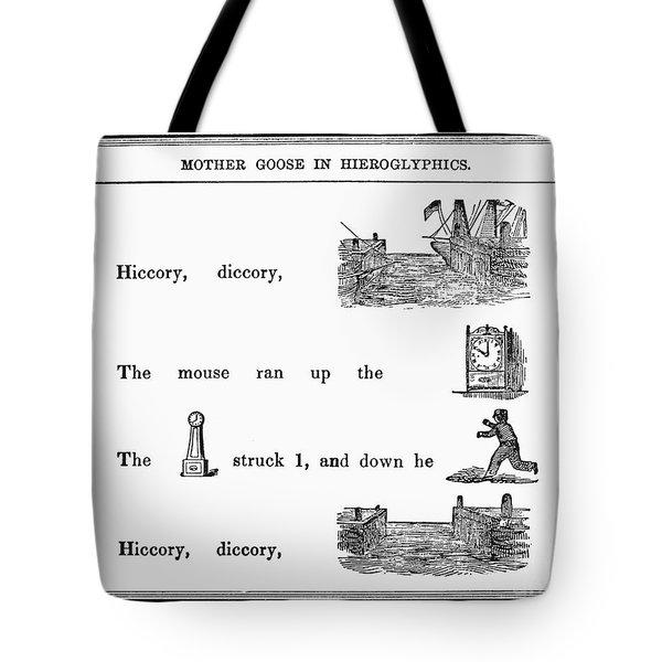 Mother Goose, 1849 Tote Bag by Granger