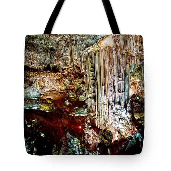 Nerja Caves In Spain Tote Bag by Artur Bogacki