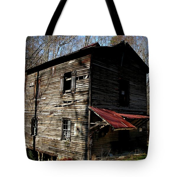 Old Grist Mill Tote Bag by Paul Mashburn