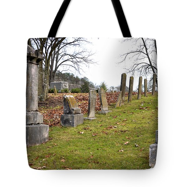 Pleasant Forest Cemetery Tote Bag by Paul Mashburn