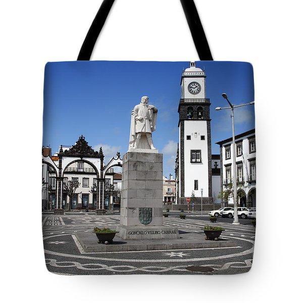 Ponta Delgada Tote Bag by Gaspar Avila