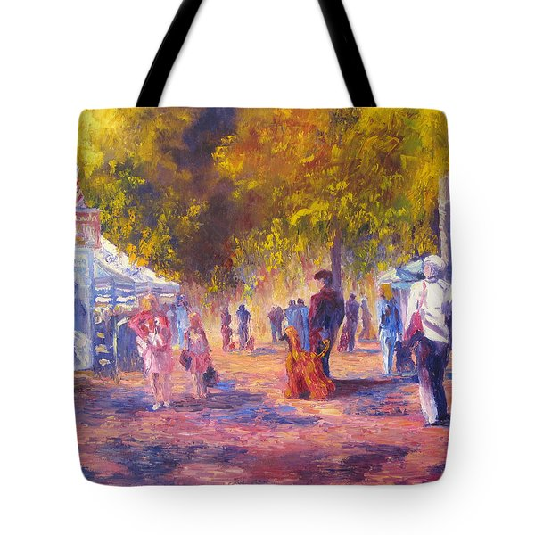 Promenade Tote Bag by Terry  Chacon