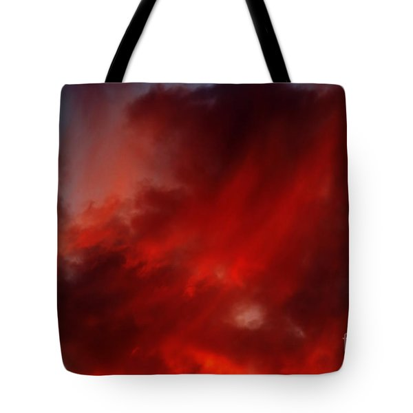 rosy sky Tote Bag by Michal Boubin