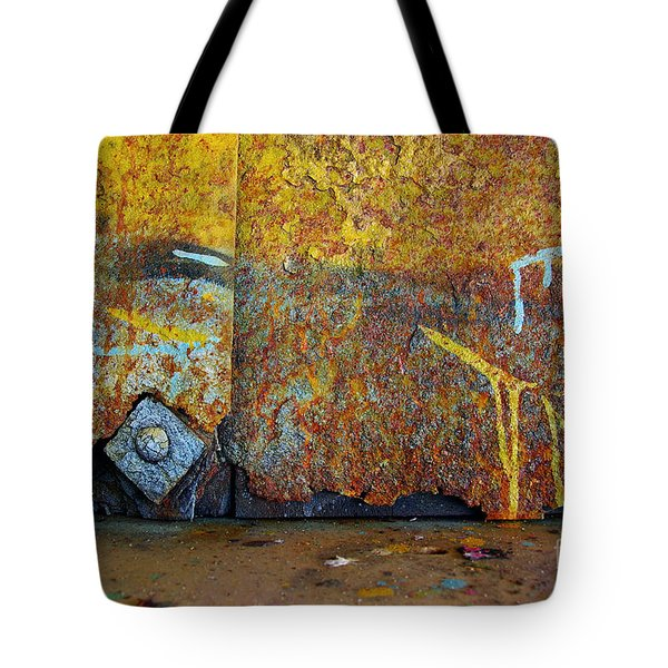 Rust Colors Tote Bag by Carlos Caetano