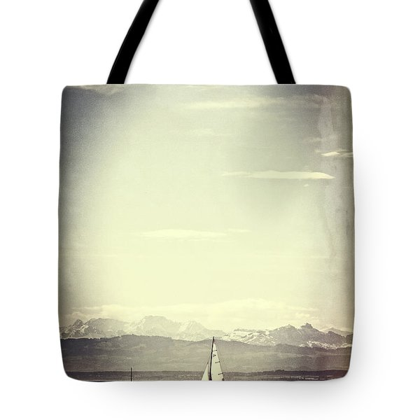 sailing boat Tote Bag by Joana Kruse