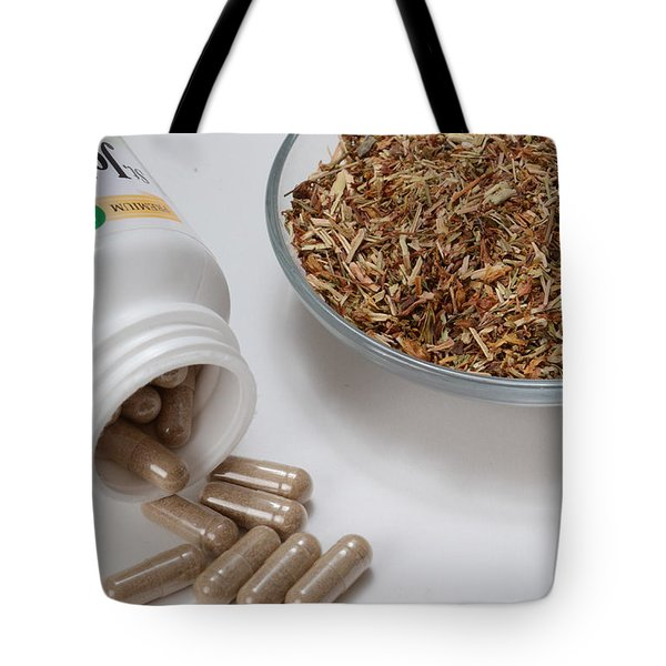 St Johns Wort Tote Bag by Photo Researchers, Inc.