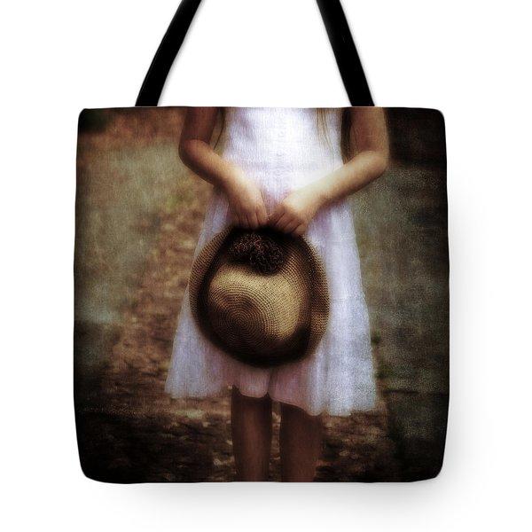 Straw Hat Tote Bag by Joana Kruse