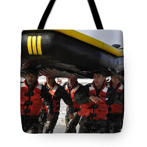Students In Basic Underwater Tote Bag by Stocktrek Images