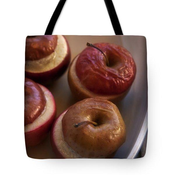 Stuffed Baked Apples Tote Bag by Joana Kruse