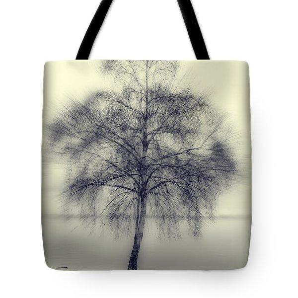 winter tree Tote Bag by Joana Kruse