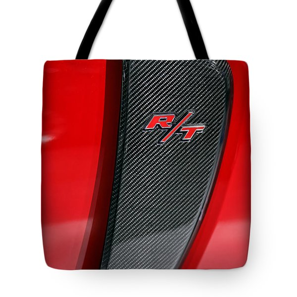 2012 Dodge Charger Rt  Tote Bag by Gordon Dean II