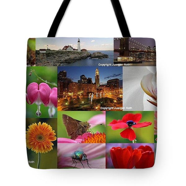 2012 Photography Artwork Highlights Tote Bag by Juergen Roth