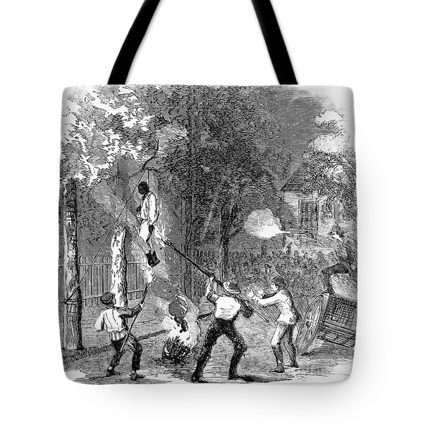 New York: Draft Riots 1863 Tote Bag by Granger