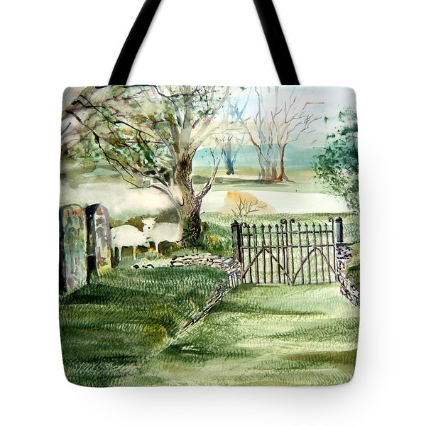 23rd Psalm Tote Bag by Mindy Newman