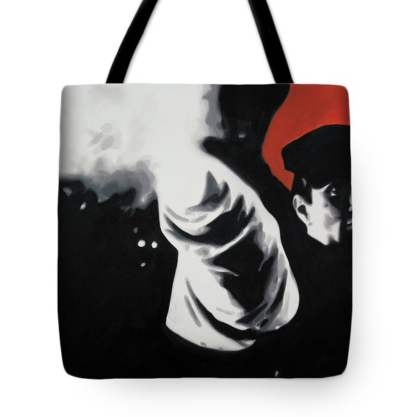 - The Godfather - Tote Bag by Luis Ludzska