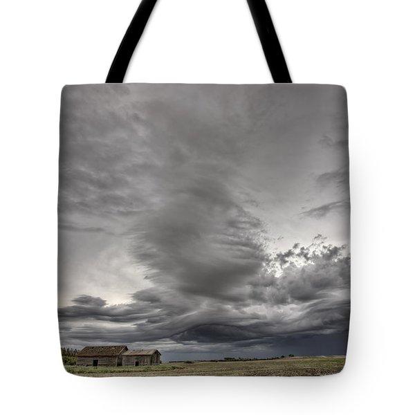 Abandoned Farm Tote Bag by Mark Duffy