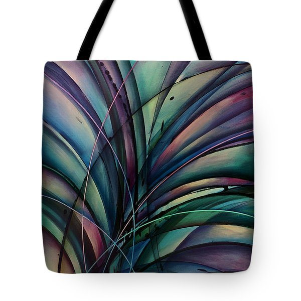Abstract Design Tote Bag by Michael Lang
