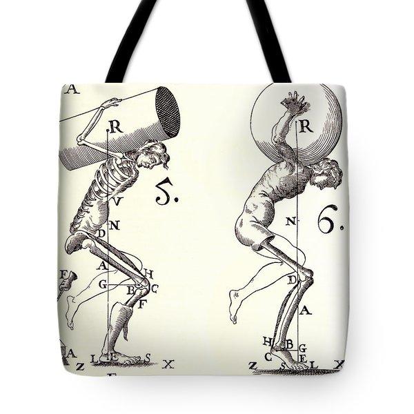 Biomechanics Tote Bag by Science Source