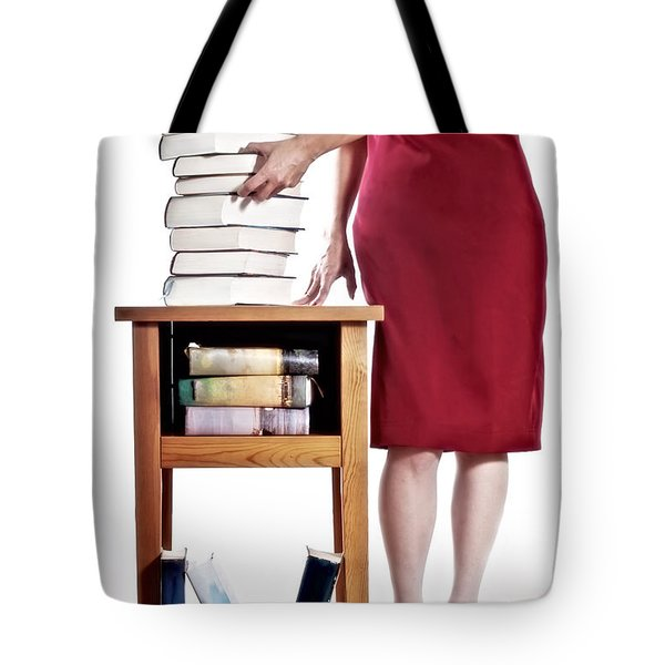 Books Tote Bag by Joana Kruse