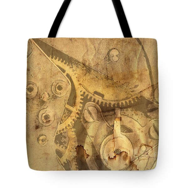 Clockwork Mechanism Tote Bag by Michal Boubin