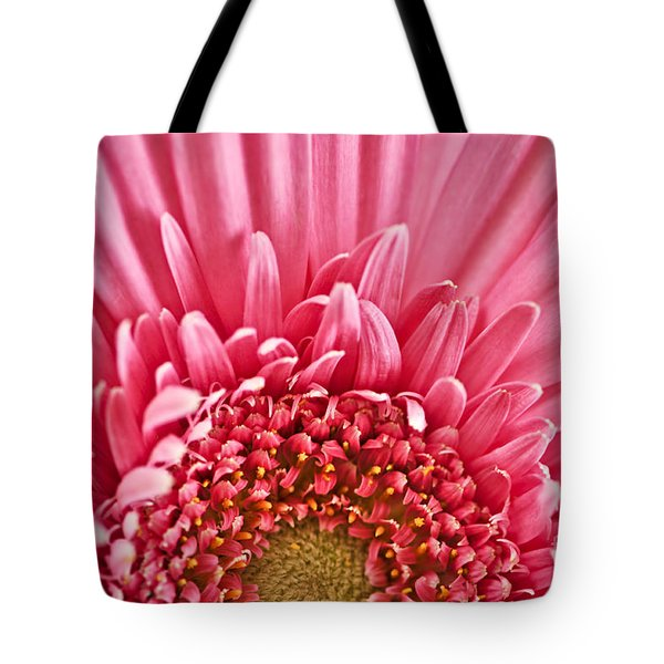 Gerbera Flower Tote Bag by Elena Elisseeva