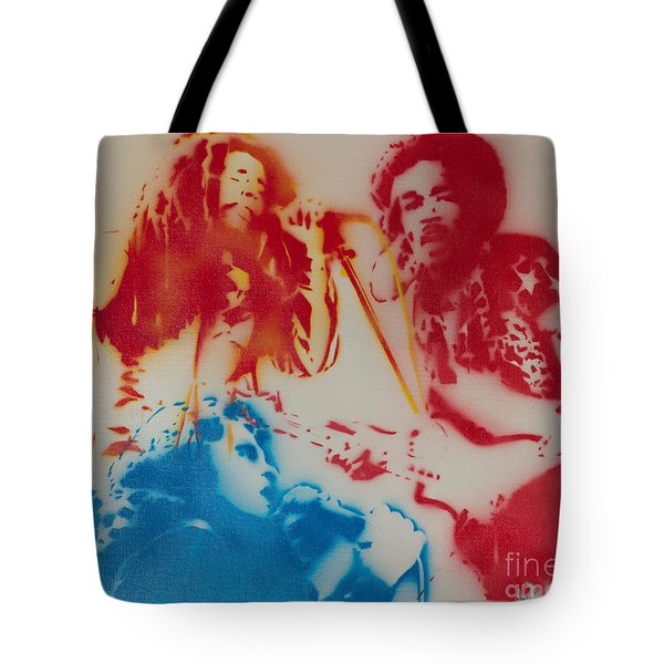 3 Hero's Tote Bag by Barry Boom