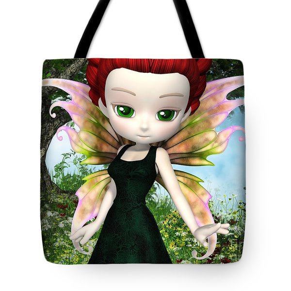 Lil Fairy Princess Tote Bag by Alexander Butler