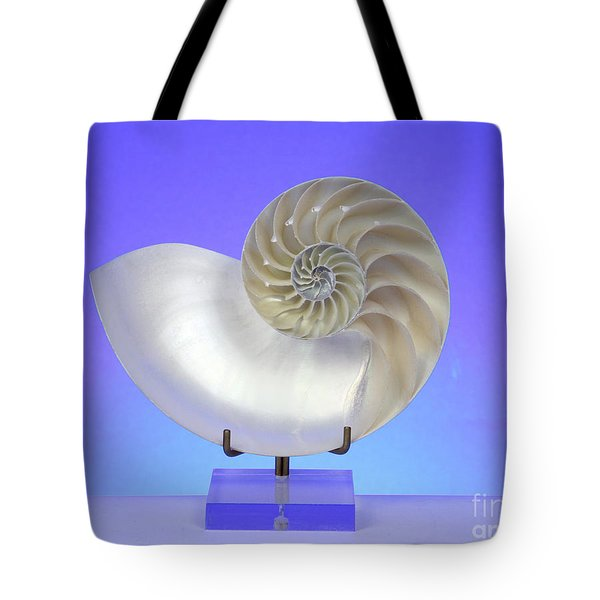 Logarithmic Spiral Tote Bag by Photo Researchers, Inc.