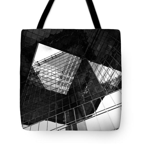 London Southbank Abstract Tote Bag by David Pyatt