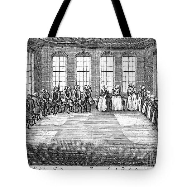 Moravians, 1757 Tote Bag by Granger