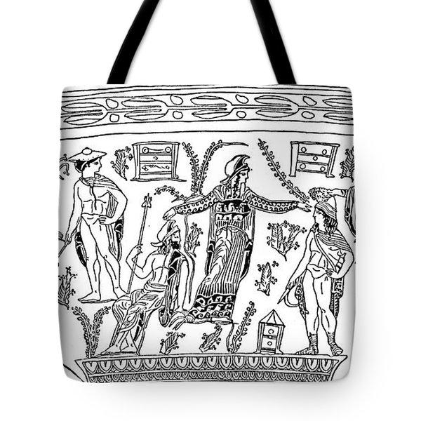 Mythology: Perseus Tote Bag by Granger