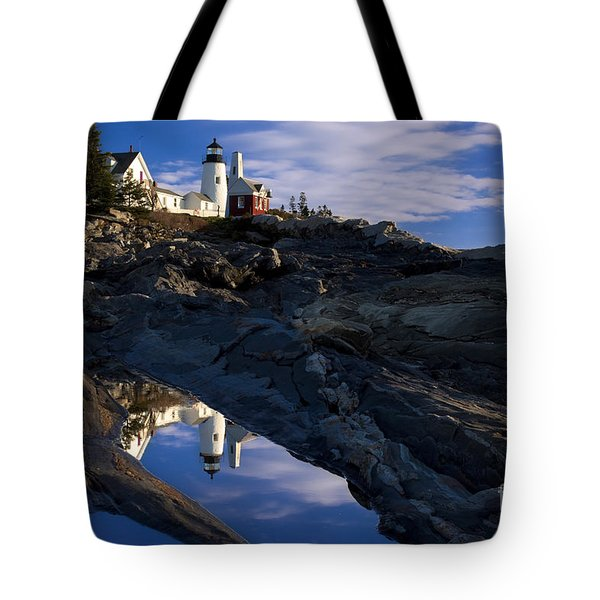 Pemaquid Point Lighthouse Tote Bag by Brian Jannsen