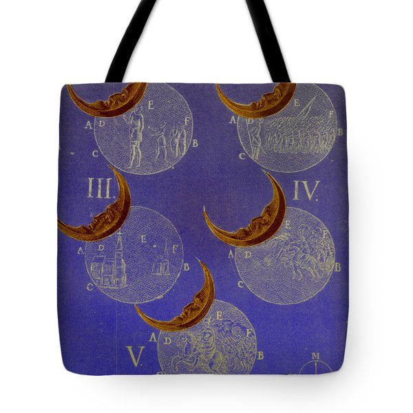 Phases Of An Eclipse Tote Bag by Science Source