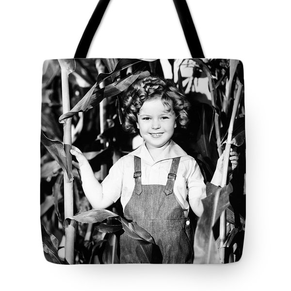 Shirley Temple (1928- ) Tote Bag by Granger