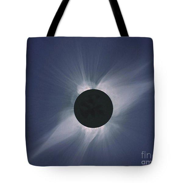 Solar Eclipse Tote Bag by Nasa