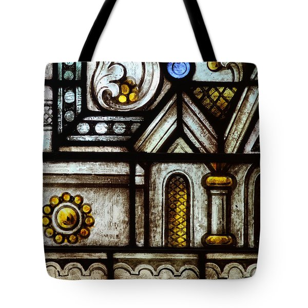 stained Glass Window Tote Bag by Rudy Umans