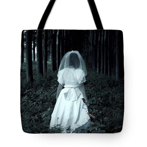 the bride Tote Bag by Joana Kruse