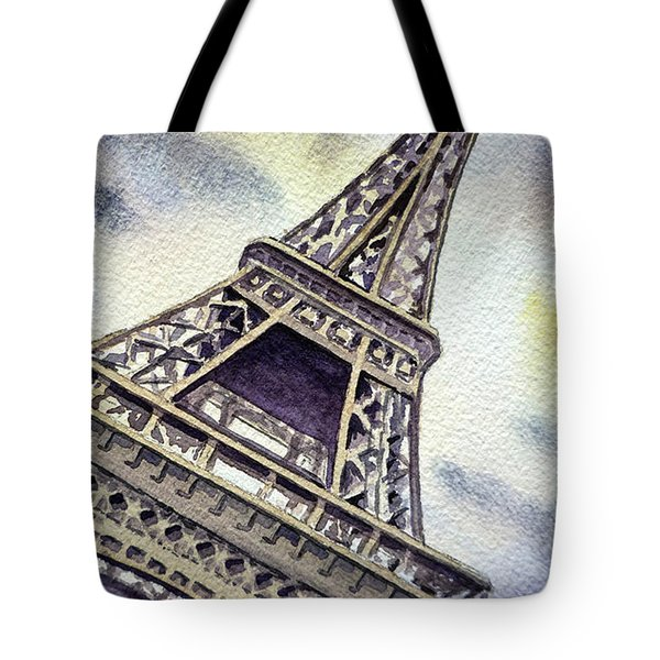 The Eiffel Tower  Tote Bag by Irina Sztukowski