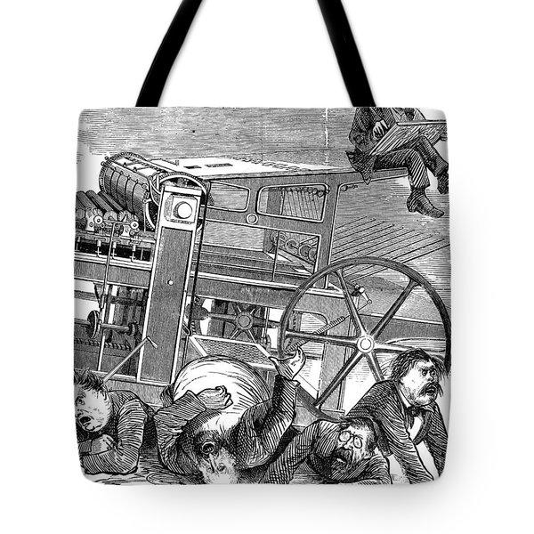 Thomas Nast (1840-1902) Tote Bag by Granger