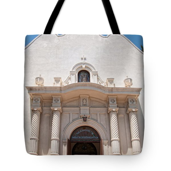 Old Town San Diego Tote Bag by Carol Ailles