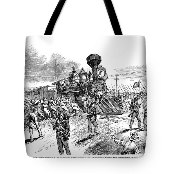 Great Railroad Strike, 1877 Tote Bag by Granger