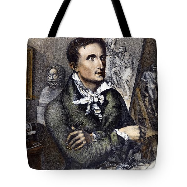 Antonio Canova (1757-1822) Tote Bag by Granger