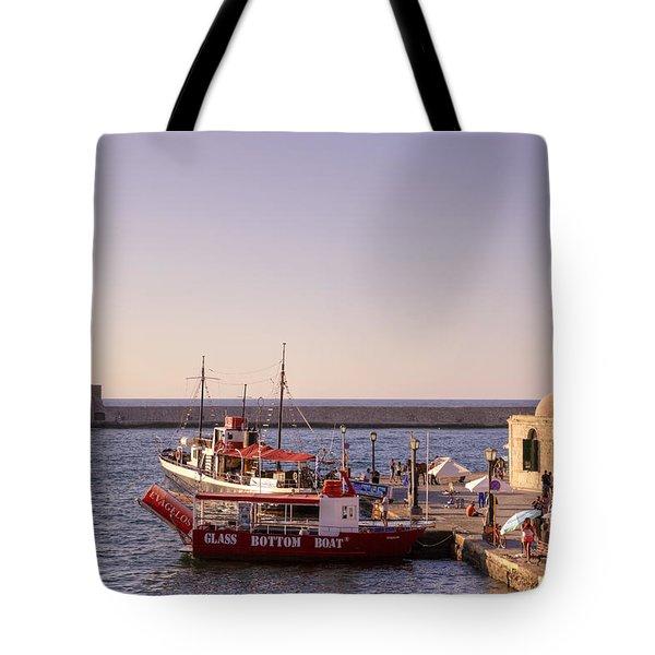 Chania - Crete Tote Bag by Joana Kruse