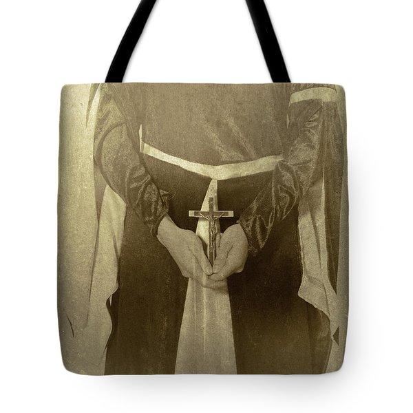 Crucifix Tote Bag by Joana Kruse