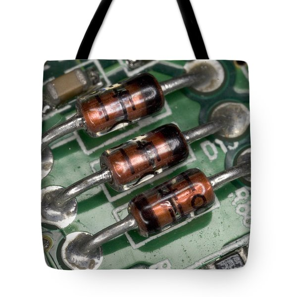 Electronics Board Tote Bag by Ted Kinsman