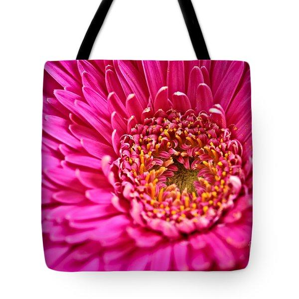 Gerbera Flower Tote Bag by Elena Elisseeva