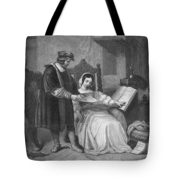 Johannes Gutenberg, German Inventor Tote Bag by Photo Researchers