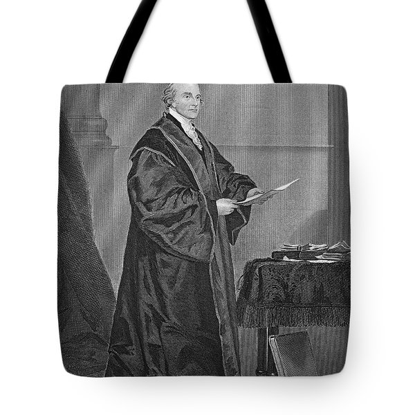 John Jay (1745-1829) Tote Bag by Granger