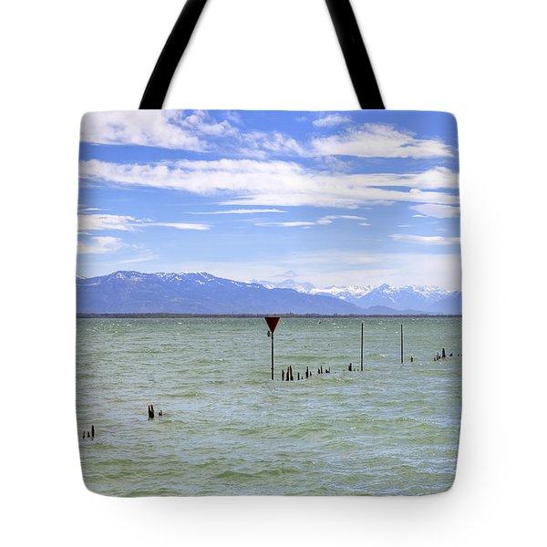 Lake Constance Tote Bag by Joana Kruse