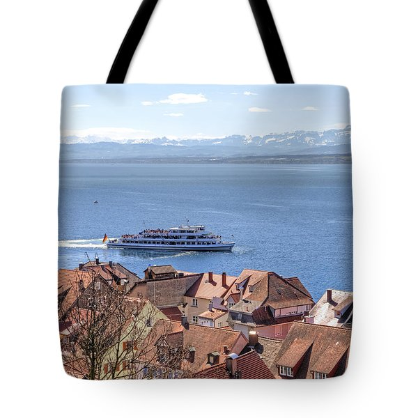 Lake Constance Meersburg Tote Bag by Joana Kruse